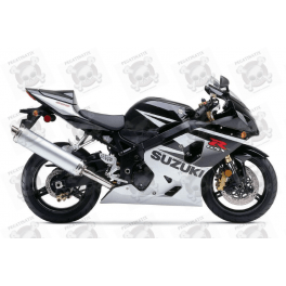 suzuki gsx r 600 2005 silver black version