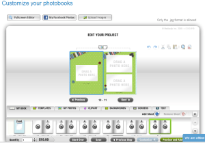 groupbook customize page