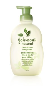 Bath Time Fun with JOHNSON'S® NATURAL® Baby Products