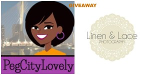 PegCityChat with Nat featuring Linen & Lace Photography {Giveaway}