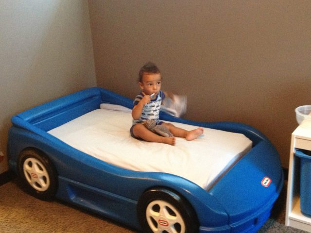 toddler bed training