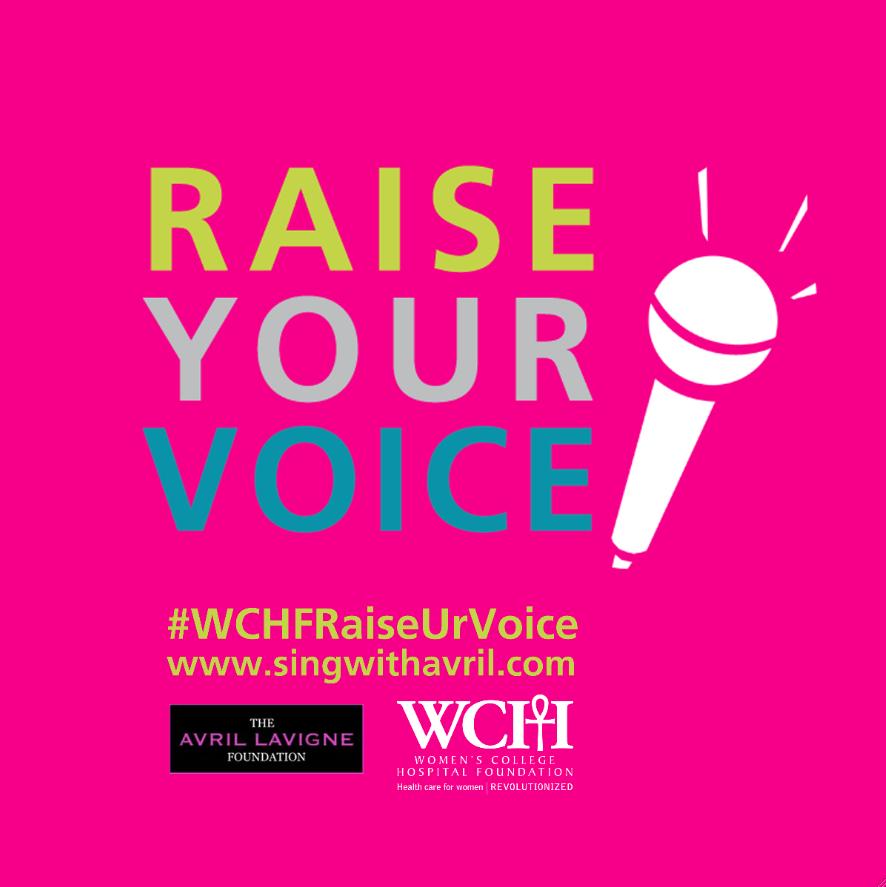 Raise Your Voice for Women's Healthcare  #WCHFRaiseURVoice