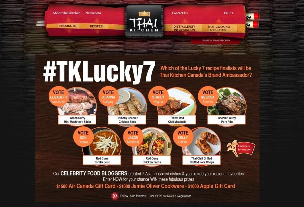 #TKLucky7 contest