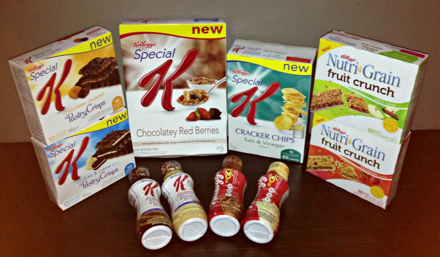 Kellogg's New Product Line-up #Giveaway