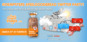 feelgoodbread twitter party