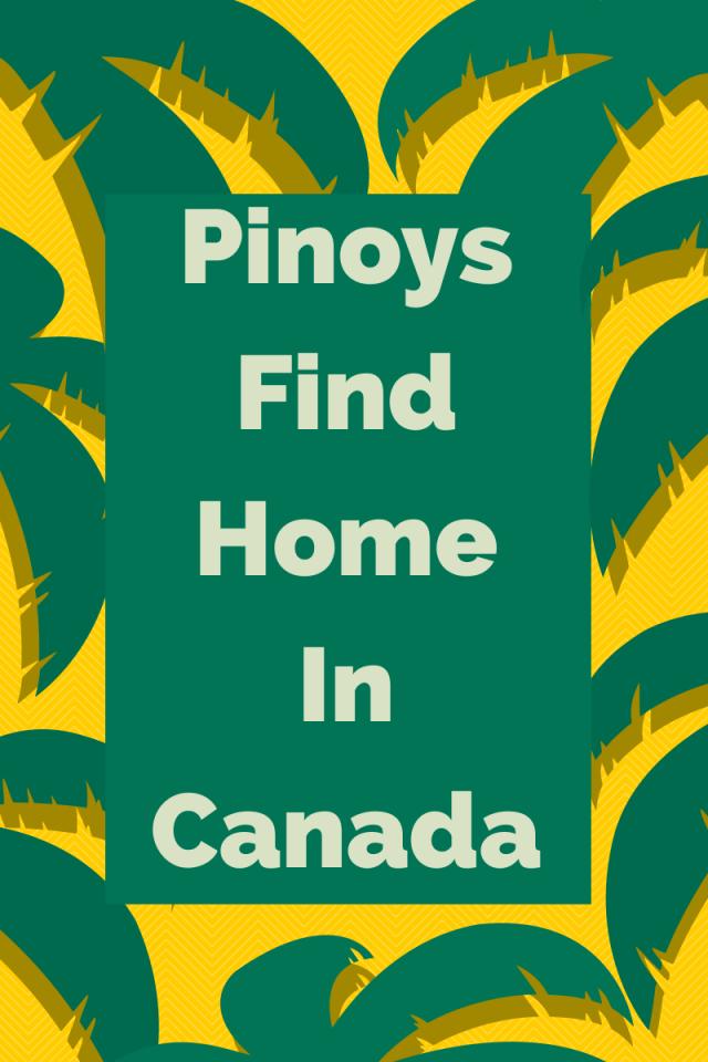Filipino Pinoys in Canada