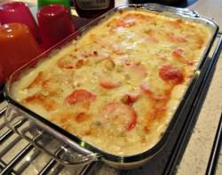 kraft creamy layered potato bake