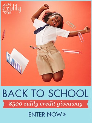 Zulily $500 Back To School #Giveaway