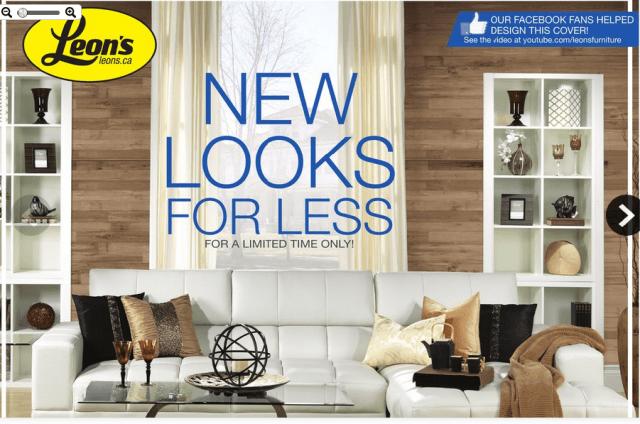 Enjoy #LeonsNewLooks For New Furnishing Ideas