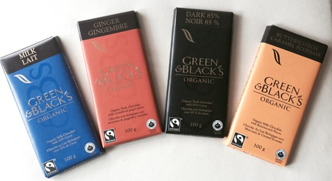 Chocolate and Tea Pairing Ideas from Green & Blacks Organic