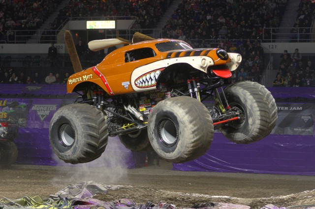 Win A Family Pack to #MonsterJam in #Winnipeg