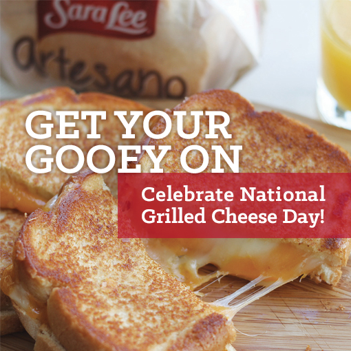 #NationalGrilledCheeseDay