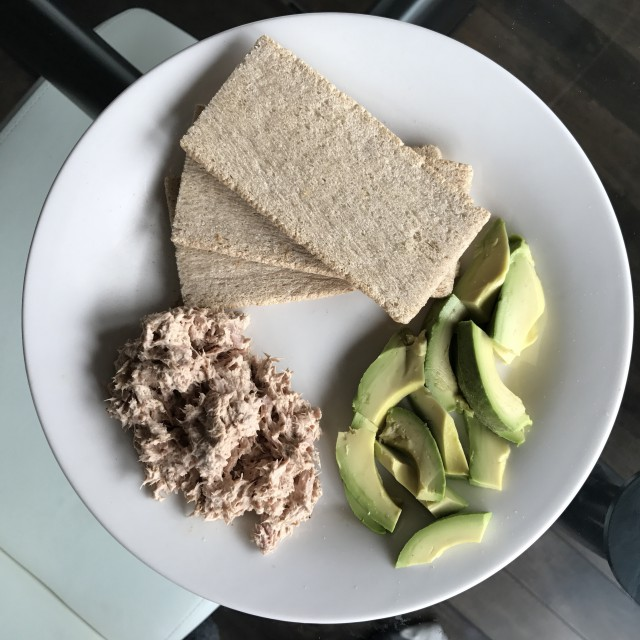 Simple, Healthy Post-Workout Lunch