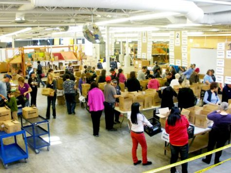 Volunteers at Winnipeg Harvest - Behind the Scenes