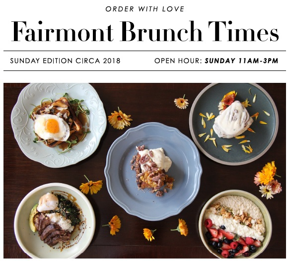 Fairmont Winnipeg Brunch Deal