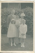First communion for twins Mary and Bill, 1941. Her Catholic faith was important to my mother all her life. I remember her going to daily mass and praying the rosary.