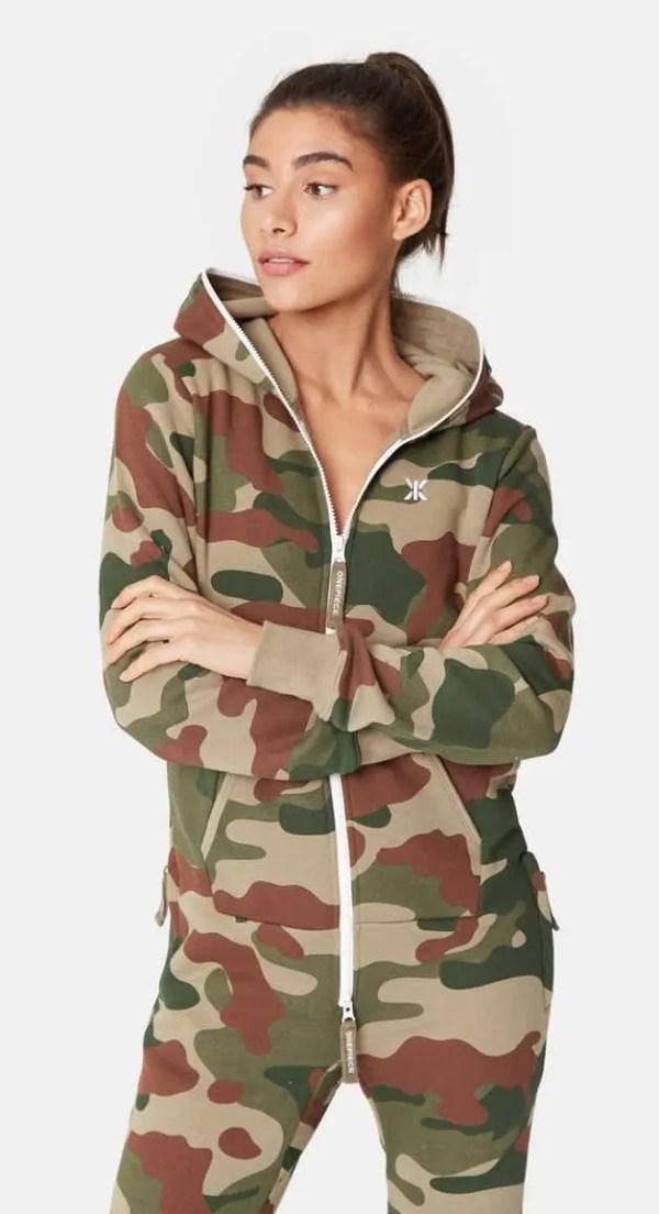 OnePiece Camouflage Onesie Jumpsuit