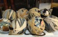 ......Balls of Rags for Weaving