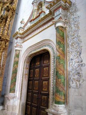 9.6 door decorated with painted