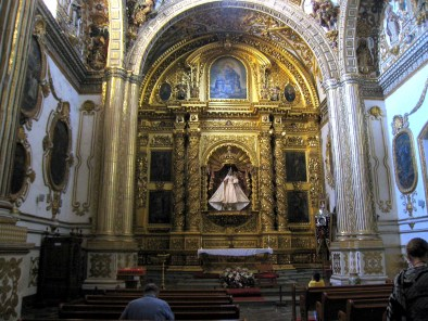 Temple of Santo Domingo one