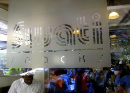 4.1 sign in restaurant Swati