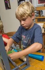 Kids Weaving 4