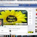 Peggy Facebook Screenshot