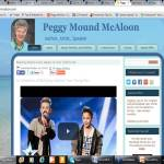 Peggy's Website Screenshot