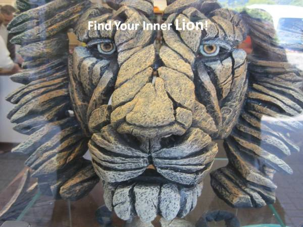 find your inner lion