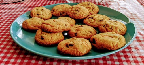 Deliciosas galletas con chips de chocolate