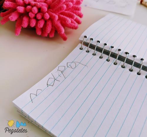 Durante el Homeschool: La Rutina de los 3 pasos, escribir todos los días NO funcionó