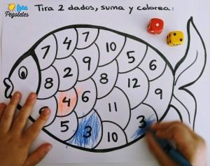 Actividades y juegos para aprender a sumar en familia