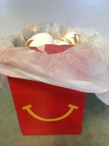 keeping eggshells for the compost bin