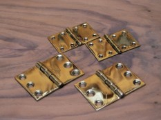 Marshall Brass hinges – quality reproduction hinges.