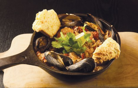 Paella recipe by Chef Michael Day of Hermanos Restaurant & Wine Bar
