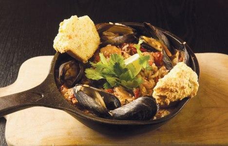 Paella recipe by Chef Michael Day of Hermanos Restaurant & Wine Bar