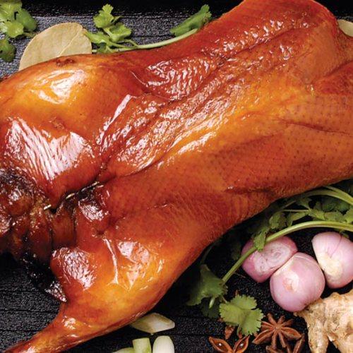 Barbeque Duck by Chef Hong Jian Zhu of North Garden Restaurant
