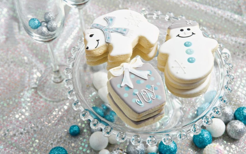 Hand Decorated Holiday Sugar Cookies