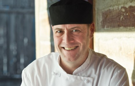 Chef Neil Higginson of Fort Gibraltar