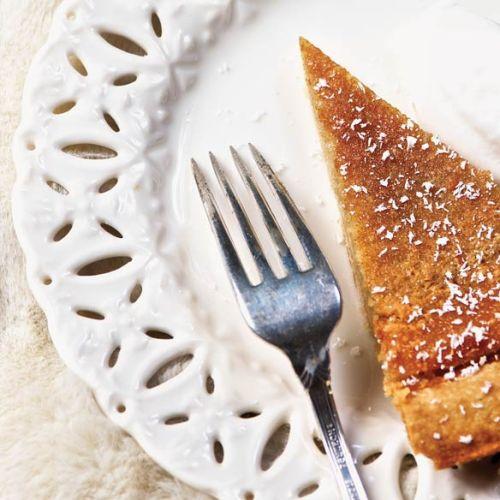Maple Sugar Pie by Chef Neil Higginson of Fort Gibraltar