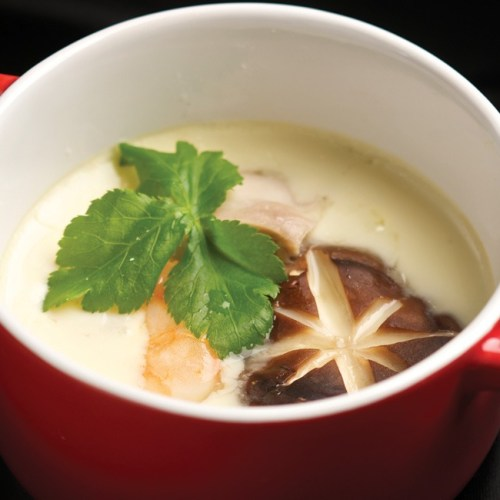 Chawan Mushi by Chef Masa Sugita of Yujiro Japanese Restaurant