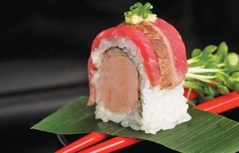 David Roll by Chef Masa Sugita of Yujiro Japanese Restaurant