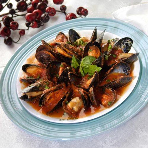 Mussels Marinara by Chef Michele Di Fonte of Monticchio