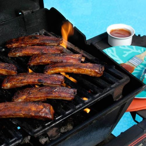 Original Barbeque Pork Ribs by Chef Roger LeBleu of Lovey's BBQ and Smokehouse
