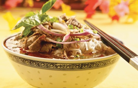 Satay Beef Soup by Chef Thuyeh Trinh Thai of Thanh Huong