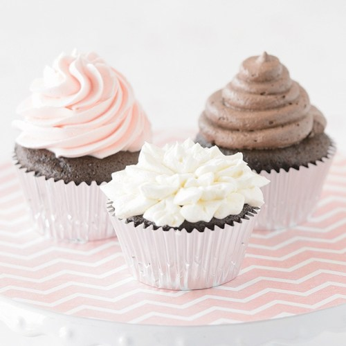 Chocolate Cupcakes by Owner Beth Grubert of Baked Expectations