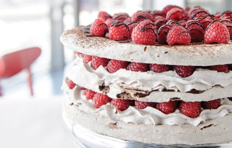 Cocoa Meringue by Owner Beth Grubert of Baked Expectations