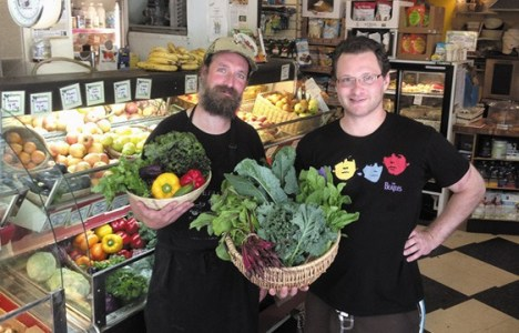 Retailer of the Year: Organic-Planet, Stephen Kirk and Christopher Nause