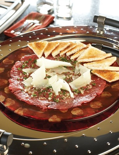 Beef Carpaccio by Executive Chef Michael Dacquisto of 529 Wellington