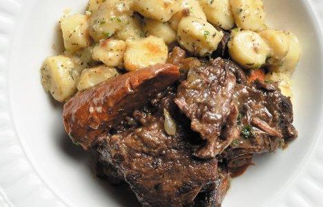 Boeuf à la Bourguignon by Chef Melissa Makarenko, Resto Gare
